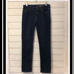 New York & Company Curvy Skinny Jeans-size 10